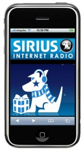 Sirius-XM iPhone app